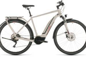 CUBE Touring Hybrid Pro 500 grey´n´red Fermé