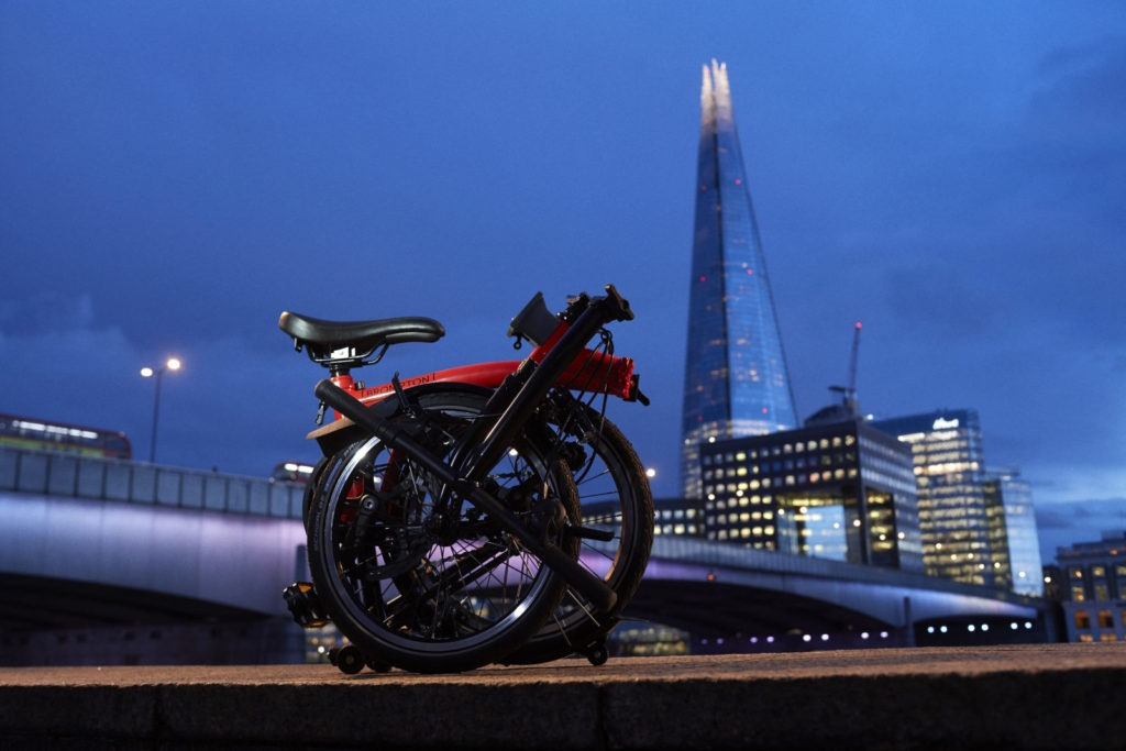 Brompton H6L Black Edtion Flame Lacquer